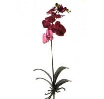 Umělá Orchidej fialová 70cm
