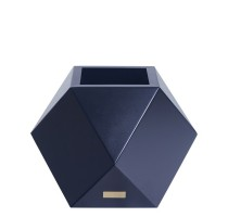 Květináč Kasper Diamant S černý 40x40xV40cm