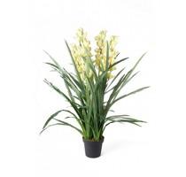 Umělá Orchidej Cymbidium Green 110cm