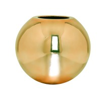 Fiberstone koule Gold lesklý 50x43cm