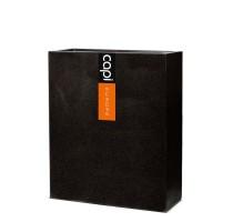Capi Lux vysoký truhlík černý 60x24x74cm